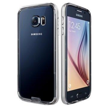 Samsung Galaxy S6 VRS Design Iron Series Suojareunus Kirkas / Hopea