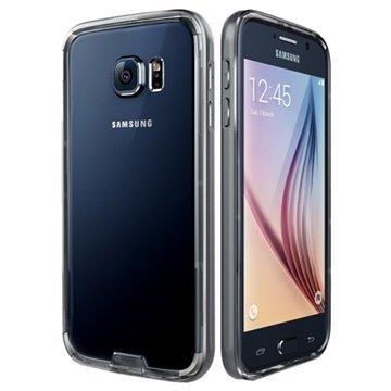 Samsung Galaxy S6 VRS Design Iron Series Suojareunus Kirkas / Titaani
