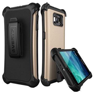 Samsung Galaxy S6 Verus Thor Hard Drop Active Series Kotelo Hohtava Kulta