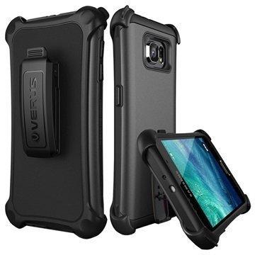 Samsung Galaxy S6 Verus Thor Hard Drop Active Series Kotelo Teräksisen Hopea