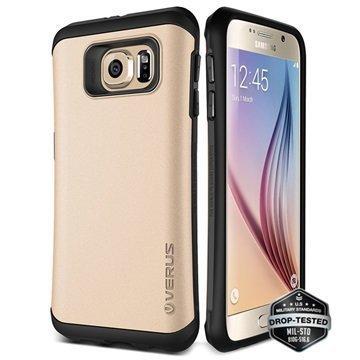 Samsung Galaxy S6 Verus Thor Hard Drop Series Kotelo Hohtava Kulta