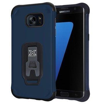 Samsung Galaxy S7 Armor-X Rugged Suojakuori Tummansininen