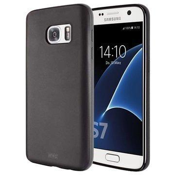 Samsung Galaxy S7 Artwizz TPU-Kotelo Musta