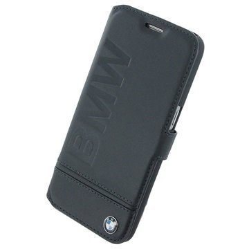 Samsung Galaxy S7 BMW Signature Imprint Book Case Black