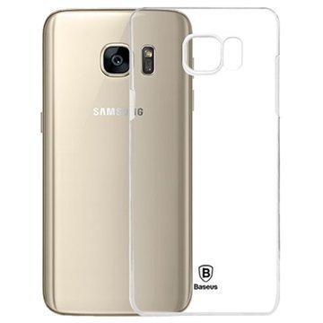 Samsung Galaxy S7 Baseus Sky Series Kova Kotelo Läpinäkyvä