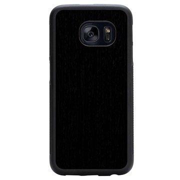 Samsung Galaxy S7 Carved Traveler Kotelo Uudelleenmuodostettu Eebenpuu