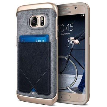 Samsung Galaxy S7 Caseology Messenger Series Hybridi Suojakuori Laivastonsininen