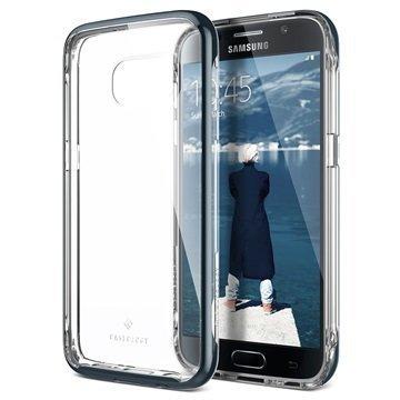 Samsung Galaxy S7 Caseology Skyfall Series Hybridi Suojakuori Laivastonsininen