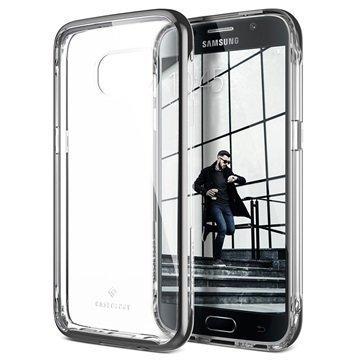 Samsung Galaxy S7 Caseology Skyfall Series Hybridi Suojakuori Musta