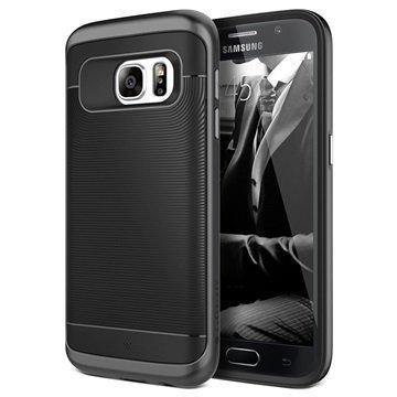 Samsung Galaxy S7 Caseology Wavelength Series Hybridi Suojakuori Musta