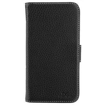 Samsung Galaxy S7 DC Luka Classic Nahkakokotelo Musta