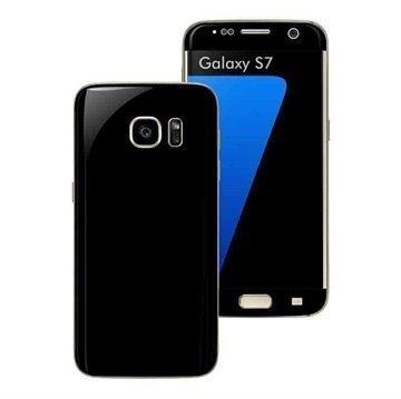 Samsung Galaxy S7 EasySkinz Matt Skin Suojakalvo Musta