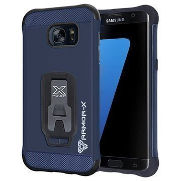 Samsung Galaxy S7 Edge Armor-X CX-S7E-NY Suojakuori Tummansininen