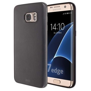 Samsung Galaxy S7 Edge Artwizz TPU-Kotelo Musta
