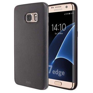 Samsung Galaxy S7 Edge Artwizz TPU-Kotelo Musta