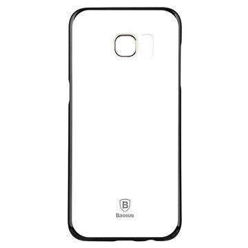 Samsung Galaxy S7 Edge Baseus Glitter Suojakuori Hopea