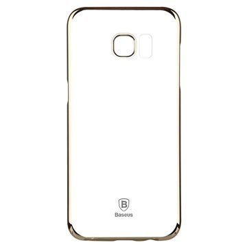 Samsung Galaxy S7 Edge Baseus Glitter Suojakuori Kulta