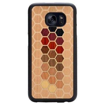 Samsung Galaxy S7 Edge Carved Traveler Kotelo Kuusikulmio