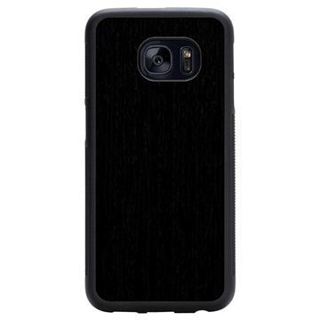 Samsung Galaxy S7 Edge Carved Traveler Kotelo Uudelleenmuodostettu Eebenpuu