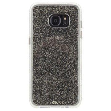 Samsung Galaxy S7 Edge Case-Mate Silkkisen Glamouri Suojakuori Samppanja