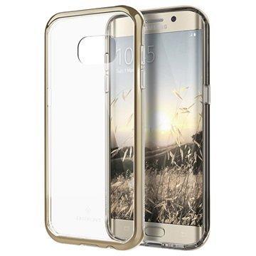 Samsung Galaxy S7 Edge Caseology Skyfall Series Hybridi Suojakuori Kulta