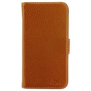"Samsung Galaxy S7 Edge DC Luka Classic lompakkokotelo â"" Ruskea"
