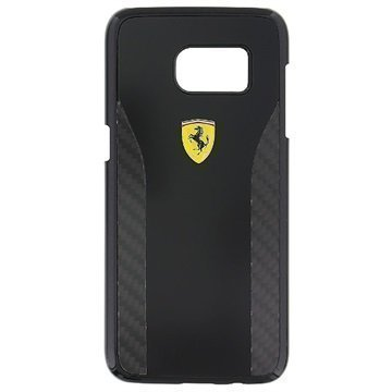 Samsung Galaxy S7 Edge Ferrari Daytona Carbon Kotelo Musta