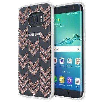 Samsung Galaxy S7 Edge Incipio Design Isla Kuori Moni Glitteri