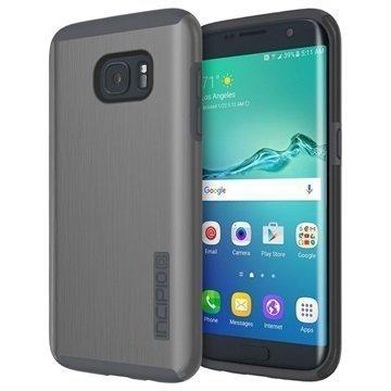 Samsung Galaxy S7 Edge Incipio DualPro Shine Kotelo Asemetallin Harmaa