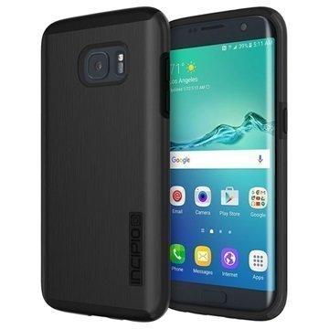 Samsung Galaxy S7 Edge Incipio DualPro Shine Kotelo Musta