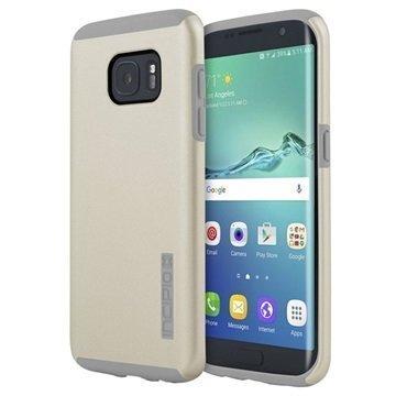 Samsung Galaxy S7 Edge Incipio DualPro Suojakuori Samppanja / Vaaleanharmaa