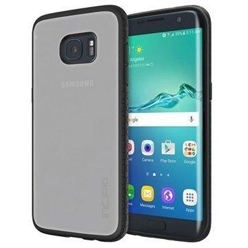 Samsung Galaxy S7 Edge Incipio Octane Suojakuori Huurre / Musta