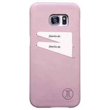 Samsung Galaxy S7 Edge JT Berlin Nahkakotelo Vaaleanpunainen