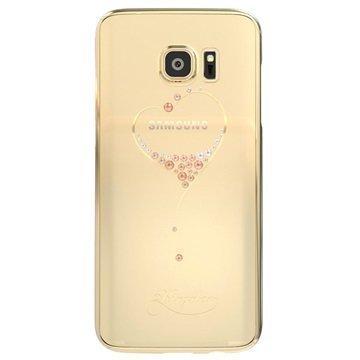 Samsung Galaxy S7 Edge Kingxbar Star Series Kova Suojakuori Sydän