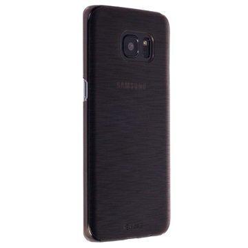 Samsung Galaxy S7 Edge Krusell Boden Kuori Läpinäkyvä / Musta