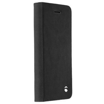 Samsung Galaxy S7 Edge Krusell Ekerö 2-in-1 Lompakkokotelo Musta