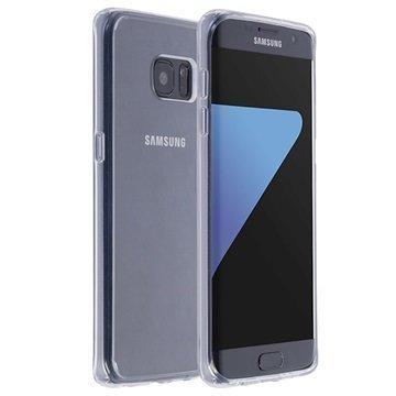 Samsung Galaxy S7 Edge Krusell Kivik Kotelo Läpinäkyvä