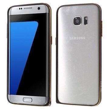 Samsung Galaxy S7 Edge Love Mei Alumiininen Suojakehys Musta