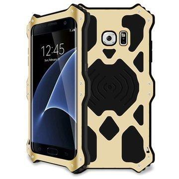 Samsung Galaxy S7 Edge Love Mei MK2 Kotelo Kulta
