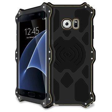 Samsung Galaxy S7 Edge Love Mei MK2 Kotelo Musta
