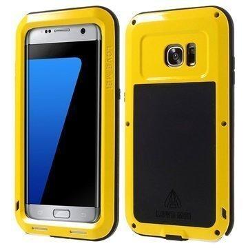 Samsung Galaxy S7 Edge Love Mei Powerful Hybrid Suojakuori Keltainen