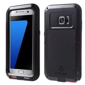 Samsung Galaxy S7 Edge Love Mei Powerful Hybrid Suojakuori Musta