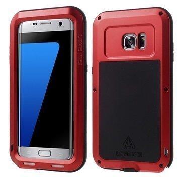 Samsung Galaxy S7 Edge Love Mei Powerful Hybrid Suojakuori Punainen