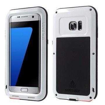 Samsung Galaxy S7 Edge Love Mei Powerful Hybrid Suojakuori Valkoinen