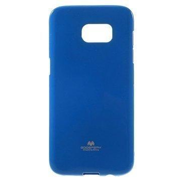 Samsung Galaxy S7 Edge Mercury Goospery TPU Kotelo Tummansininen