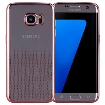 Samsung Galaxy S7 Edge Momax Splendor TPU-Kotelo Ruusukulta