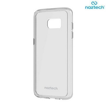 Samsung Galaxy S7 Edge Naztech Hybrid PC + TPU Cover Clear
