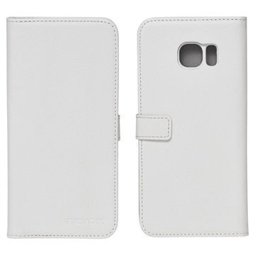 Samsung Galaxy S7 Edge Nevox Ordo Foliokotelo Valkoinen / Harmaa