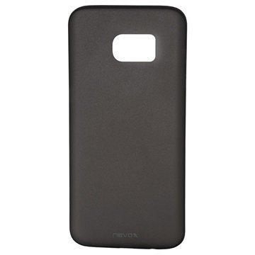Samsung Galaxy S7 Edge Nevox StyleShell Air PP Kotelo Musta Läpinäkyvä