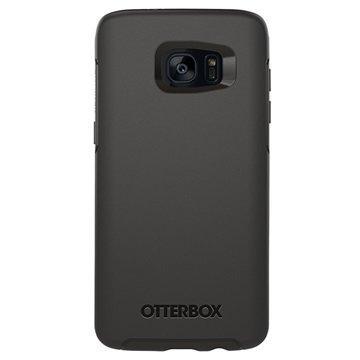 Samsung Galaxy S7 Edge OtterBox Symmetry Series Kotelo Musta